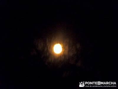 Senderismo a la luz de la luna - Cascada de San Mamés; sendero del agua